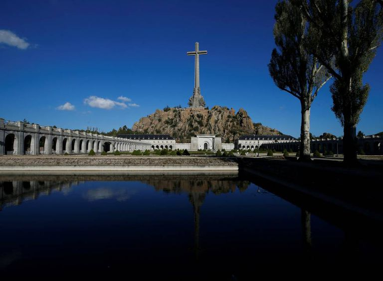 The Valley of the Fallen, where Franco's remains have been resting for 44 years.