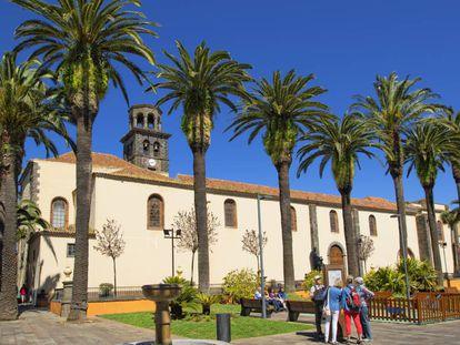 The Nuestra Señora de la Concepción church in La Laguna.