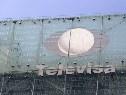 Televisa's headquarters in Mexico City.