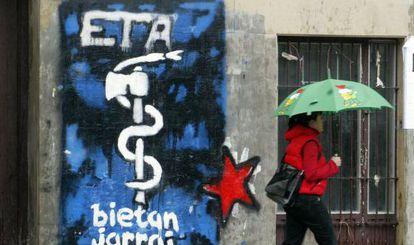 Begoña Rodríguez shared an image on Facebook that carried the ETA logo.