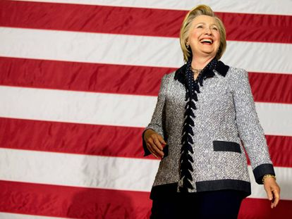 Hillary Clinton on Tuesday in Pittsburgh.
