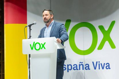 Vox leader Santiago Abascal hopes to replicate his success in Andalusia.