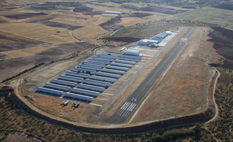Current airfield in Casarrubios del Monte.