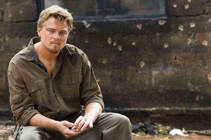 Leonardo DiCaprio, in a scene from the movie 'Blood Diamond.'