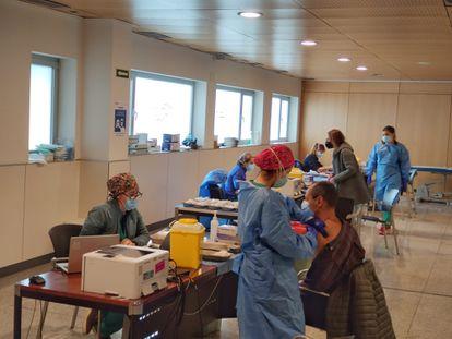Vaccination drive in La Rioja.