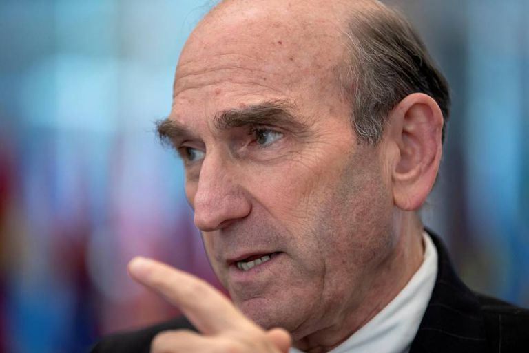 Elliott Abrams, the US special representative for Venezuela.