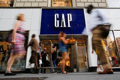 A GAP store in Manhattan, New York.