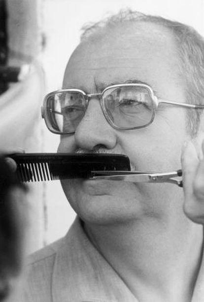 José Luis Borau in a 1978 photo from the book.