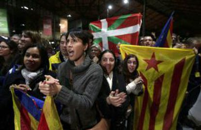 Around 1.8 million people voted in favor of Catalan independence on November 9, 2014.