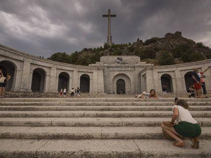 Controversial memorial site Valley of the Fallen.