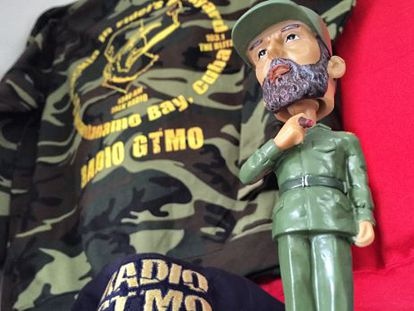 This Fidel Castro doll is among the gifts on sale at the Guantánamo Bay naval base.