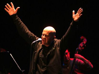 The singer and musician Germán Coppini (1961-2013).