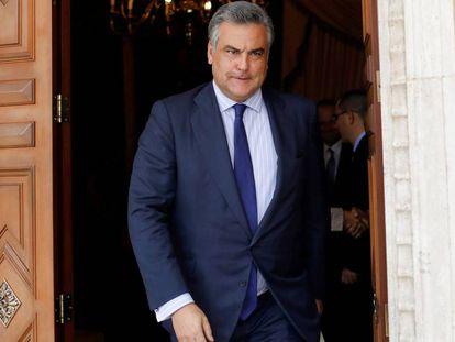 Ambassador Jesús Silva in a picture taken November 14.