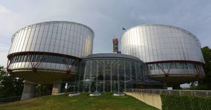 The European Court of Human Rights in Strasbourg.