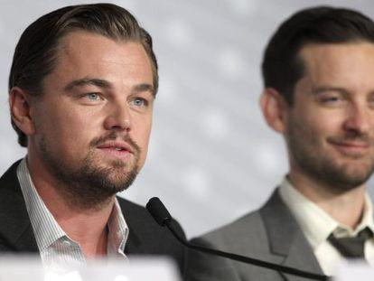 The Great Gatsby stars Leonardo Di Caprio and Tobey Maguire.