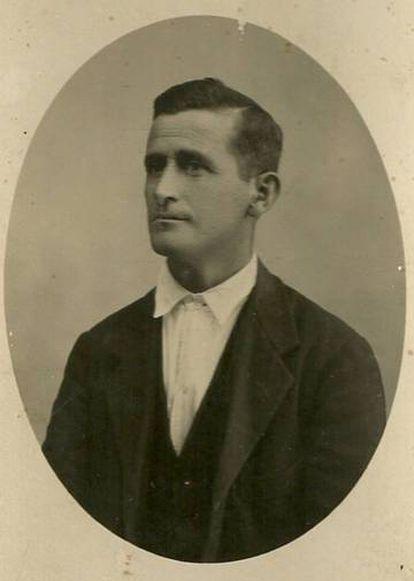 Rafael Martínez Moro, one of the victims of La Pedraja