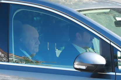 Former king Juan Carlos I in October, 2019.