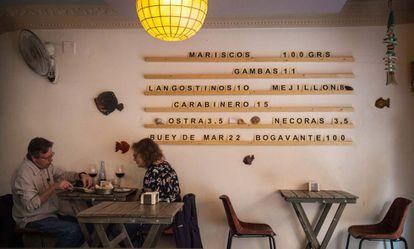 Seville tapas bar La Azotea.