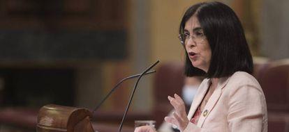 Spanish Health Minister Carolina Darias.