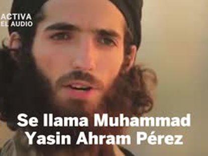 The video featuring Muhammad Ahram Pérez.