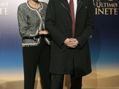Zapatero and his wife Sonsoles Espinosa