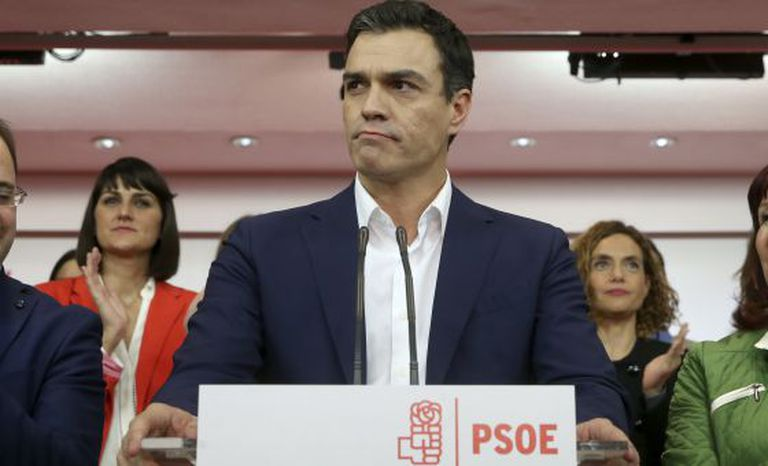 Socialist leader Pedro Sánchez is not willing to support Mariano Rajoy's nomination to a new term in office.