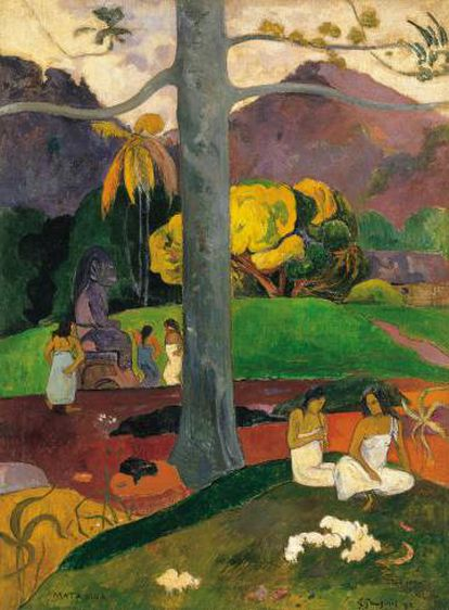 Gauguin's 'Mata Mua' is one of the highlights of Cervera's collection.