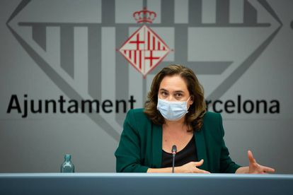 Barcelona mayor Ada Colau is concerned about the rise in cases in the city.