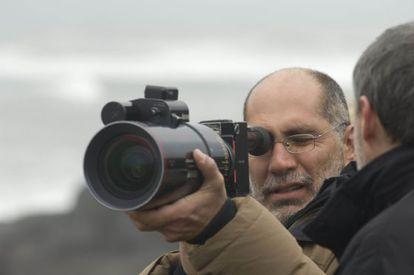 Director and screenwriter Guillermo Arriaga.