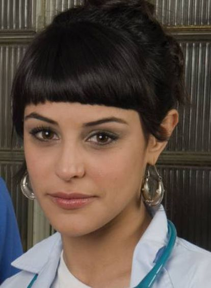 Actress Sara Casasnovas in a promotional picture.