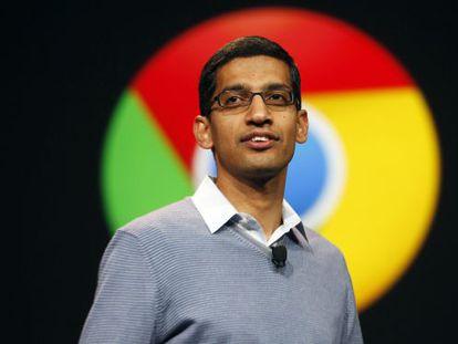 Sundar Pichai, senior vice president of Google Chrome.
