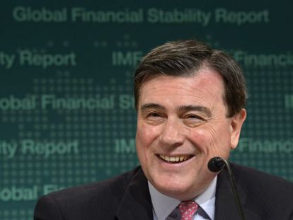 The IMF director for financial and monetary affairs, Spaniard, José Viñals.