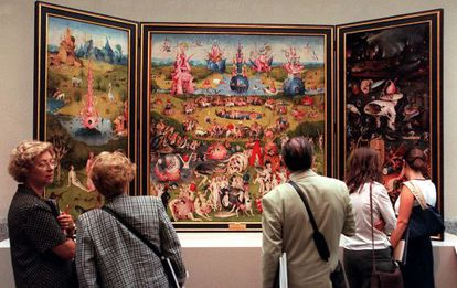 Hieronymus Bosch's 'The Garden of Earthly Delights' is a major visitor draw at the Prado Museum.