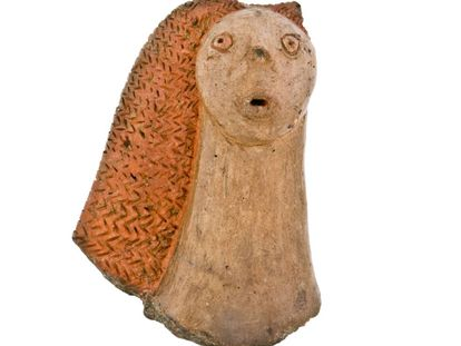 A female idol found in Gáldar (Gran Canaria).