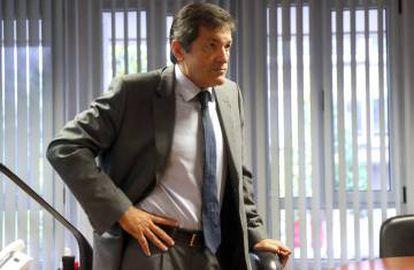 Javier Fernández heads the interim management team leading the PSOE.