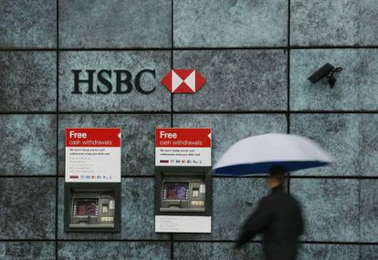 The British banking group HSBC has been questioned over its Swiss subsidiary's methods.