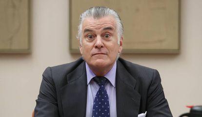 Former Popular Party treasurer Luis Bárcenas.