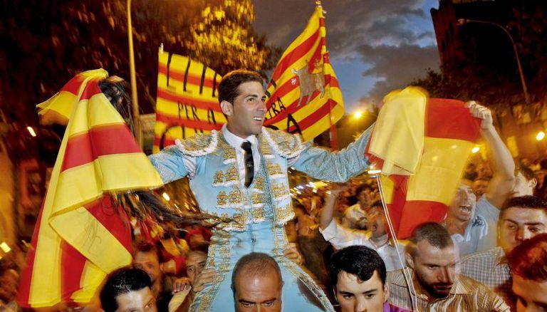Catalan bullfighter Serafín Marín.
