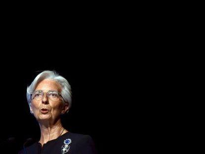 Christine Lagarde, head of the International Monetary Fund.