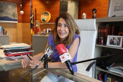 Raquel Sánchez, the mayor of Gavà, will hold the transportation portfolio.