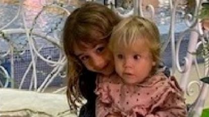 One-year-old Anna and Olivia, 6, have been missing since April 27.