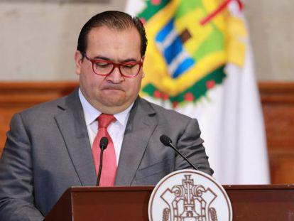 Veracruz Governor Javier Duarte.