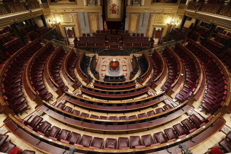 Spain's lower house of parliament, the Congress of Deputies.