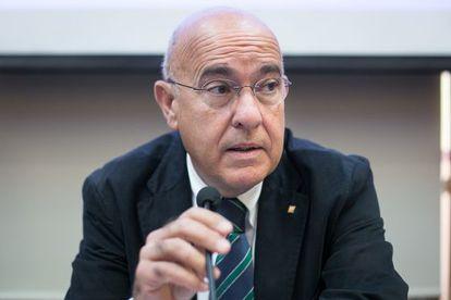 Catalan regional health chief, Boi Ruiz.