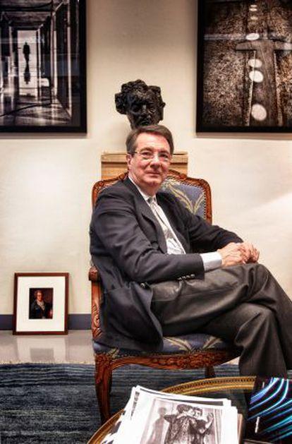 Belgian director Gérard Mortier.
