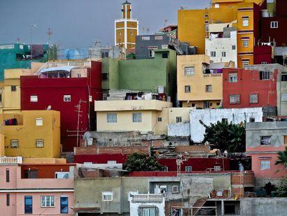 El Príncipe is reminiscent of Rio's 'favelas.'
