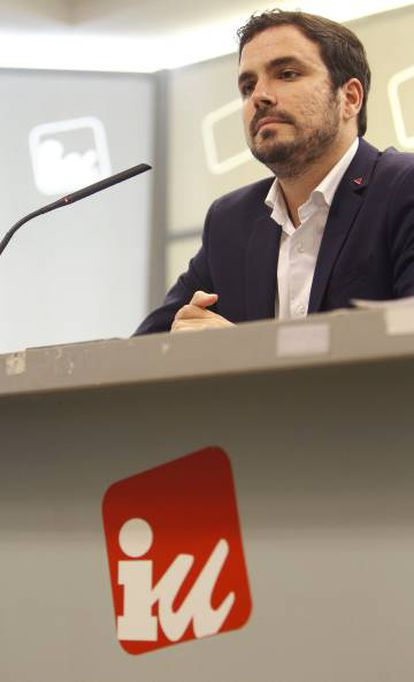Alberto Garzón, the deputy for Unidos Podemos, managed to introduce the issue on the agenda for next week's plenary session.