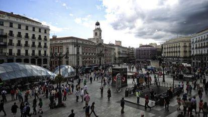 La Puerta del Sol.