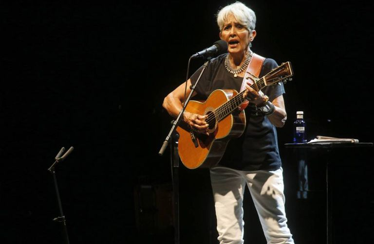 Summer Festivals Folk Legend Joan Baez Comes To Spain On Her Farewell Tour News El Pais In English