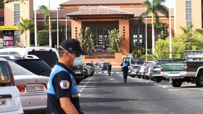 The Costa Adeje Palace hotel in La Caleta (Tenerife).